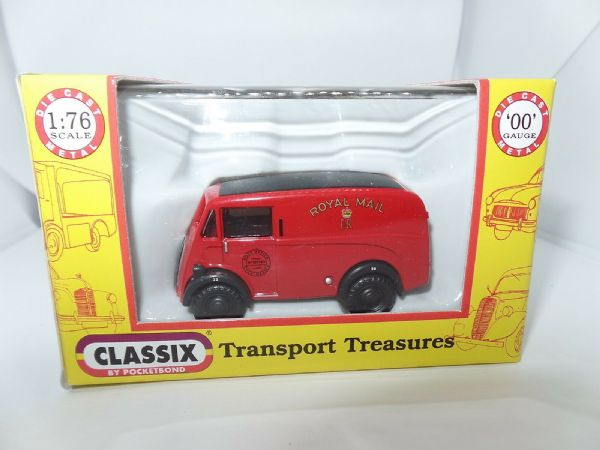 Classix EM76612 1/76 OO Scale  Morris J Van Post Office Royal Mail